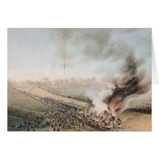 Accidente en la Versalles al ferrocarril de Bellev Tarjeta De Felicitación
