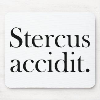 Accidit de Stercus Tapetes De Ratón