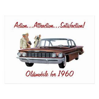 Acción, atracción, postal de la satisfacción