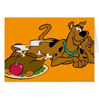 Acción de gracias 06 de Scooby Tarjeta De Felicitación