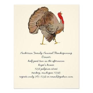 Acción de gracias a todo color Turquía Comunicados Personales