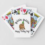 Acción de gracias baraja de cartas