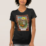 Acción de gracias del vintage camiseta