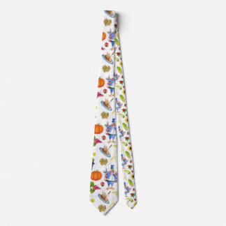 acción de gracias divertida corbatas personalizadas