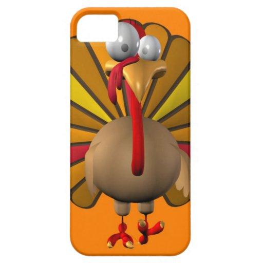 Acción de gracias divertida Turquía iPhone 5 Case-Mate Carcasa