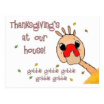 ¡Acción de gracias en nuestra casa! Postales