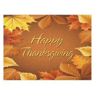 Acción de gracias feliz 1 mantel