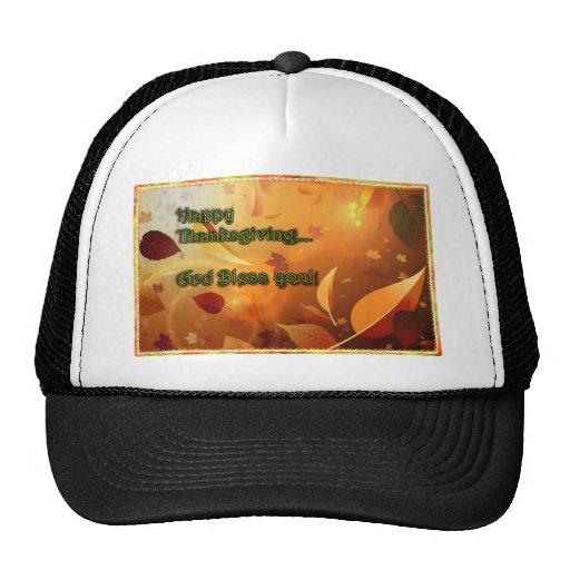 Acción de gracias feliz 2 del gorra