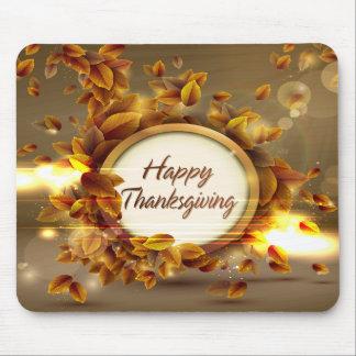 Acción de gracias feliz 3 Mousepad