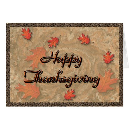 Acción de gracias feliz felicitación