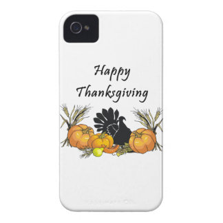 Acción de gracias feliz iPhone 4 Case-Mate protector