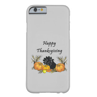 Acción de gracias feliz funda barely there iPhone 6