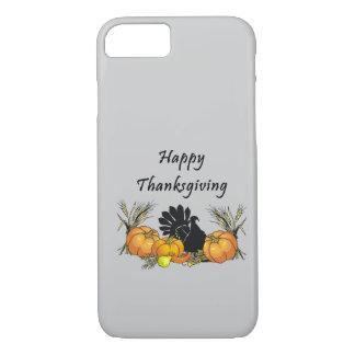 Acción de gracias feliz funda iPhone 7