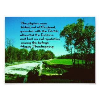 Acción de gracias feliz fotografia