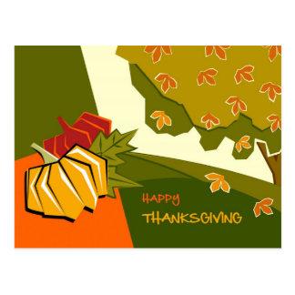 Acción de gracias feliz. Postales adaptables