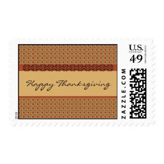 Acción de gracias feliz sellos