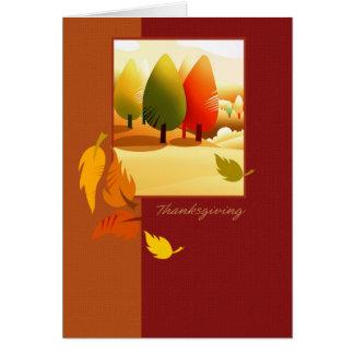 Acción de gracias feliz. Tarjetas de felicitación