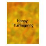 ¡Acción de gracias feliz! Tarjetas Informativas