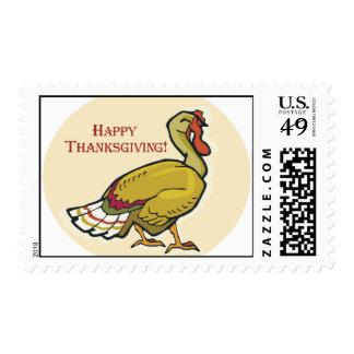 Acción de gracias feliz Turquía Estampillas