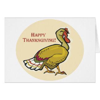 Acción de gracias feliz Turquía Tarjeta De Felicitación