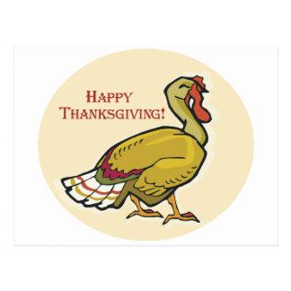 Acción de gracias feliz Turquía Tarjetas Postales