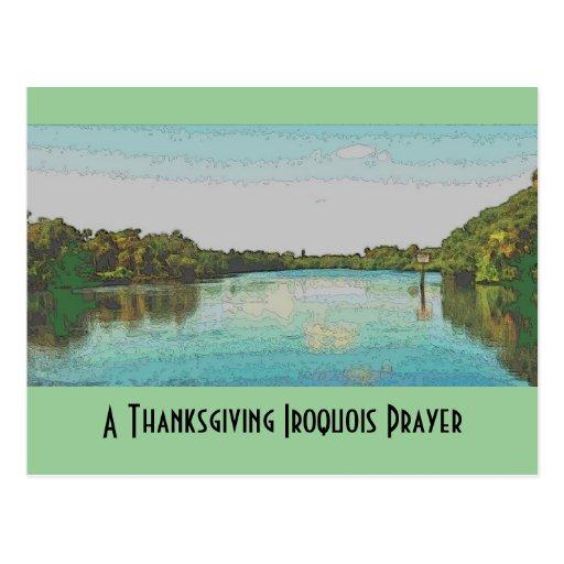 Acción de gracias Iroquois Postal