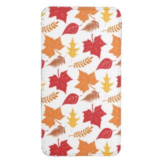 Acción de gracias retra de las hojas de otoño de funda para galaxy s4