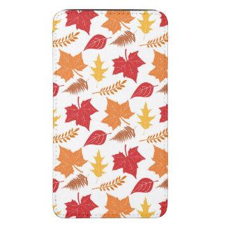 Acción de gracias retra de las hojas de otoño de funda para galaxy s5