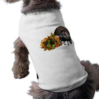 Acción de gracias camisas de mascota