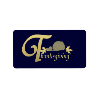 Acción de gracias - salmo 100 etiqueta de dirección