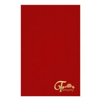 Acción de gracias - salmo 100 papelería personalizada