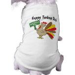 Acción de gracias Turquía Camisa De Mascota