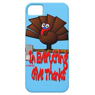 Acción de gracias Turquía - en TODO dé las gracias iPhone 5 Funda