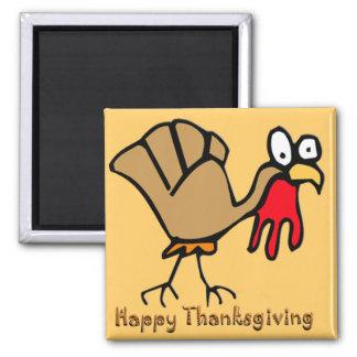 Acción de gracias Turquía Imán Cuadrado
