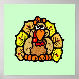Acción de gracias Turquía Póster