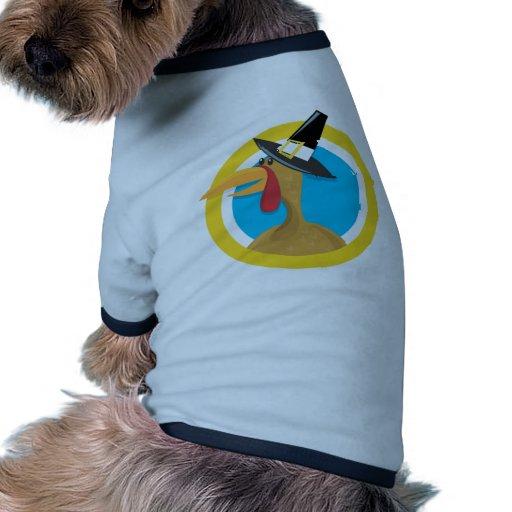 Acción de gracias Turquía Camiseta Con Mangas Para Perro
