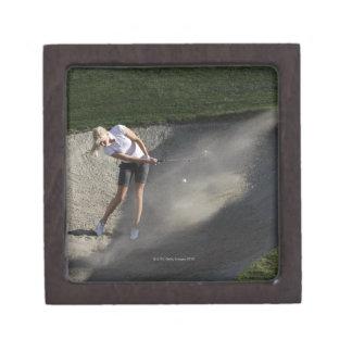 Acción de la arcón del golf caja de regalo de calidad