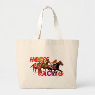 Acción de la carrera de caballos bolsa