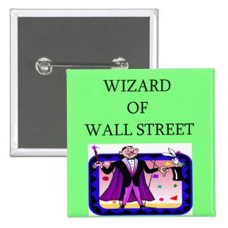 acción de Wall Street, inversor del mercado Pin
