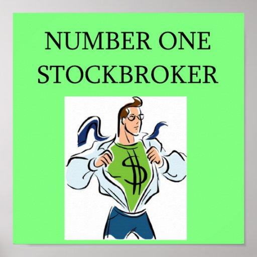 acción de Wall Street, inversor del mercado Poster