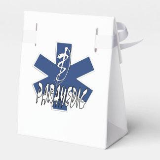 Acción del paramédico caja para regalos de fiestas