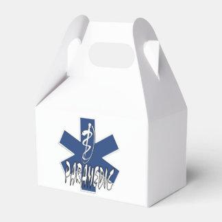 Acción del paramédico cajas para regalos
