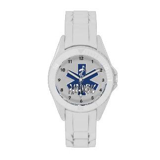 Acción del paramédico el ccsme relojes de pulsera