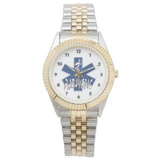 Acción del paramédico relojes de pulsera