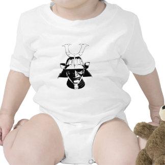 Acción del samurai trajes de bebé