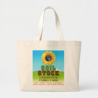 Acción del suelo - bolso de la lona de la granja d bolsa