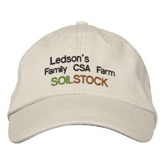 Acción del suelo - gorra bordado granja de la fami gorras bordadas
