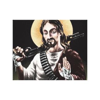 Acción Jesús Impresion En Lona