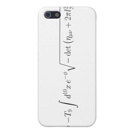 acción Nacida-Infeld de la teoría de la secuencia iPhone 5 Carcasas