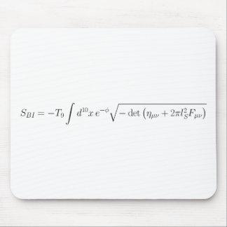acción Nacida-Infeld de la teoría de la secuencia Tapetes De Ratones